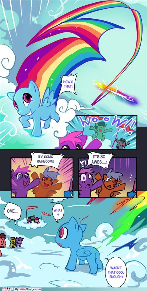 bald comics hair rainboom rainbow dash - 5088841728