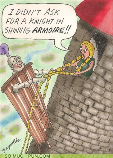 armoire armor knight literalism misinterpretation request shining similar sounding - 5089624064