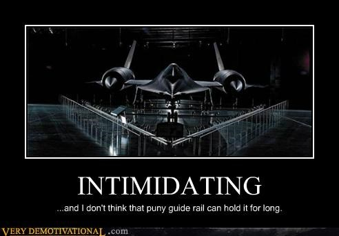 intimidating planes rail Terrifying war