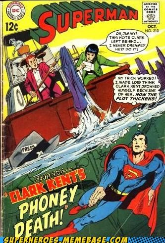 Clark Kent jerk Straight off the Page superman wtf - 5089899264