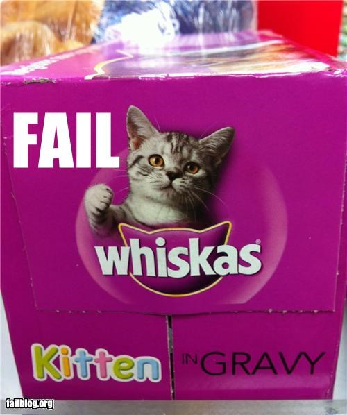 cat food Cats failboat g rated juxtaposition packaging - 5090087936