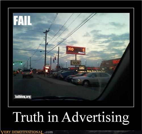 advertising hilarious neon sign truth - 5090182400