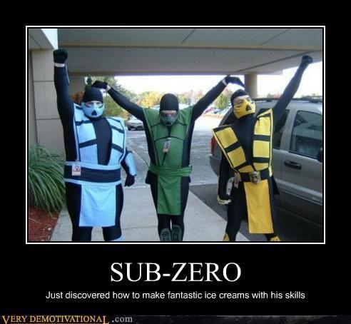 costume hilarious Mortal Kombat reptile scorpion Sub Zero - 5090482688