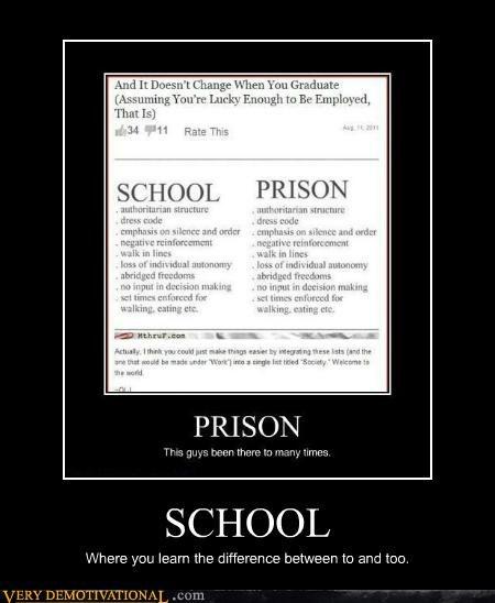 grammar nazi hilarious learn prison school - 5090603776