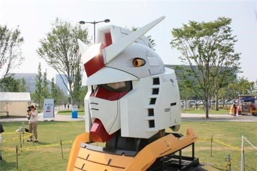 anime bandai gundam gundam statue Japan mecha mobile suit gundam movies Tech tokyo tv shows - 5090660096