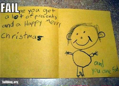christmas cute failboat fat g rated kids mean Tis the Season - 5090683392