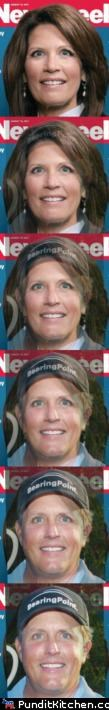Michele Bachmann,phil mickelson,political pictures