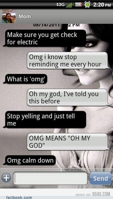 mom oh snap omg slang text - 5090952960