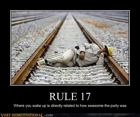hilarious,Party,passed out,rule 17,wtf