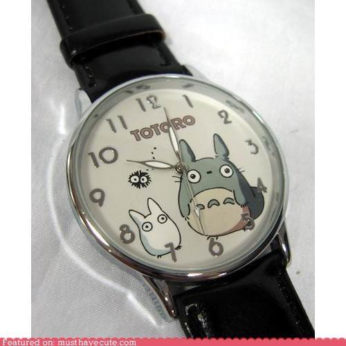 silver totoro watch - 5090999296