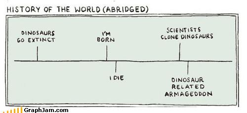 Armageddon,cloning,dinosaur