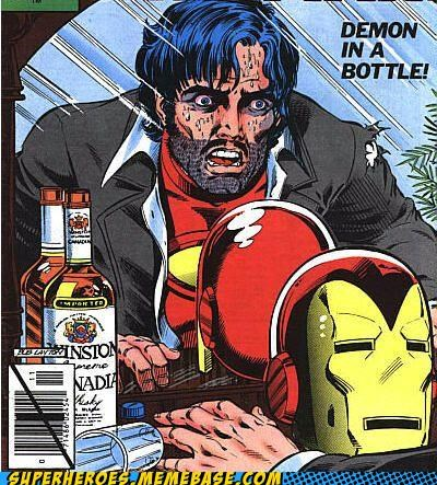 drunk iron man joe hawtness Random Heroics wtf - 5091039744