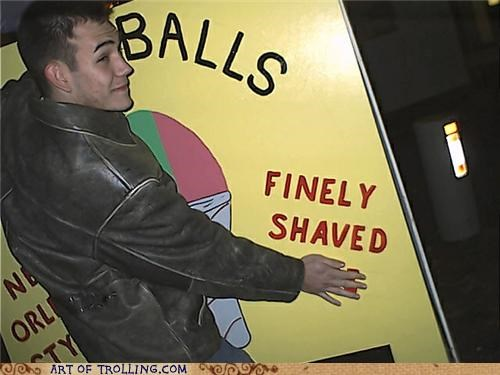 balls,IRL,shaved ice,shaving,that sounds naughty