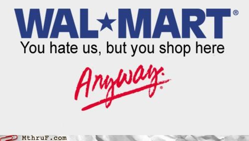 Hall of Fame hatred logo wal mart