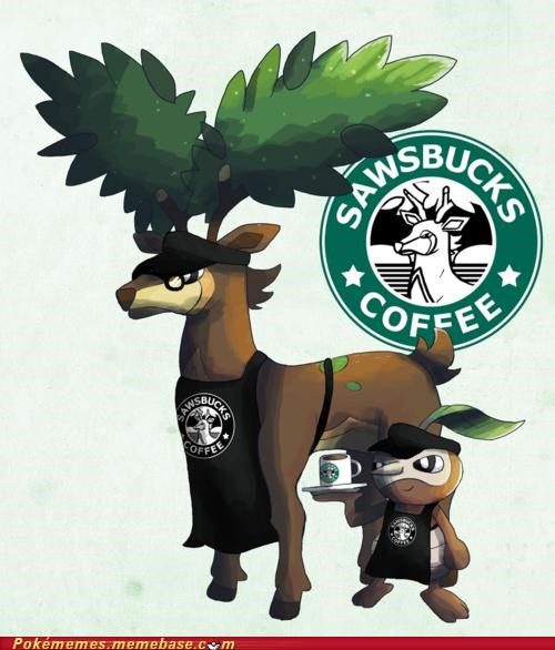 art barista coffee sawbucks Starbucks - 5091169792