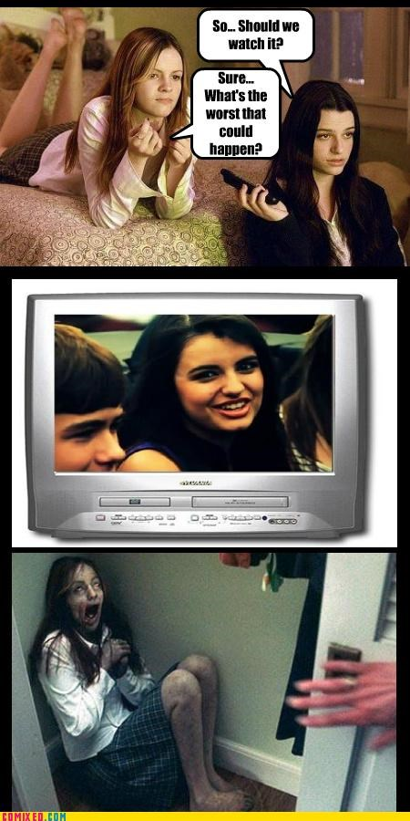 7 days,Death,From the Movies,Rebecca Black,samara,the ring