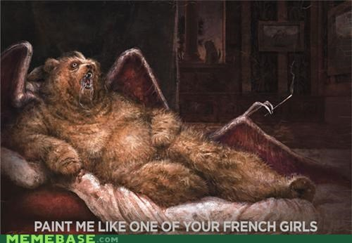 bear draw fusion one of your french girls paint terrodactyl - 5091307264