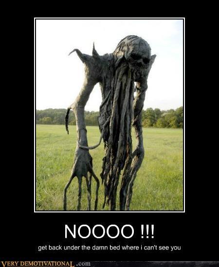 bed creepy scarecrow Terrifying - 5091326208