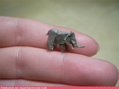 handmade miniature origami tiny - 5091362560