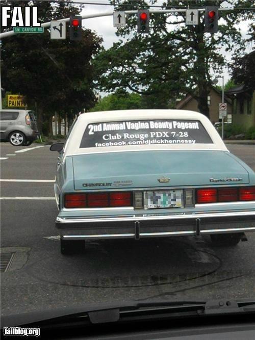 beauty car failboat innuendo oregon wtf - 5091370496