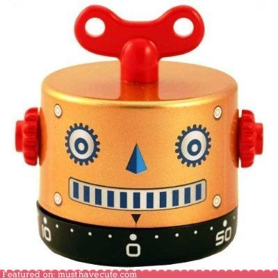 bell,egg timer,kitchen,robot,timer