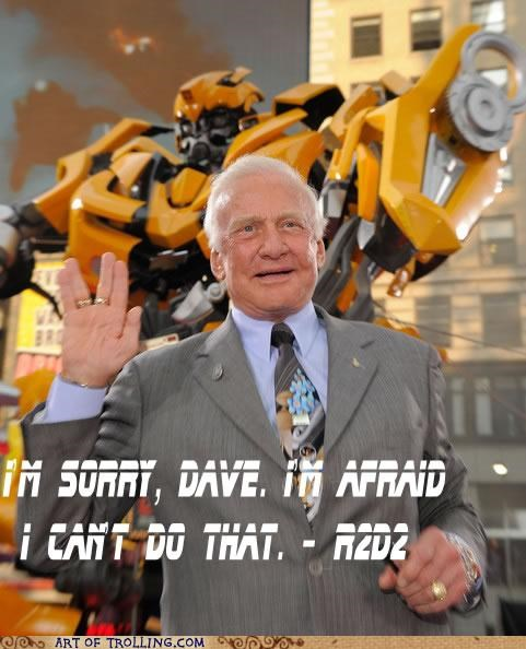 2001 a space odyssey buzz aldrin buzz lightyear misquotes star wars transformers - 5091496448