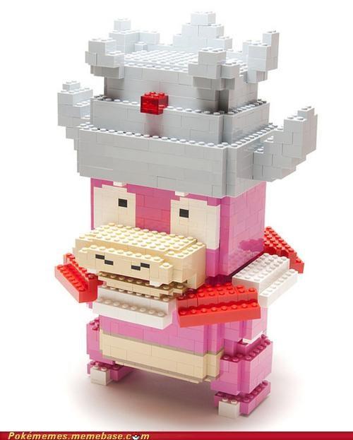 art lego slowking - 5091759872
