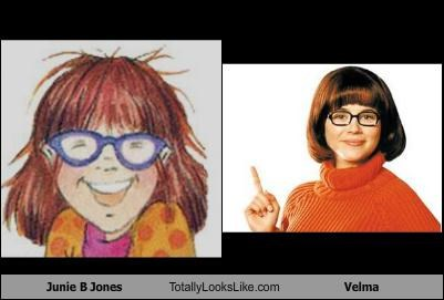 books cartoon characters childrens-books fictional characters glasses orange orange sweater scooby doo velma