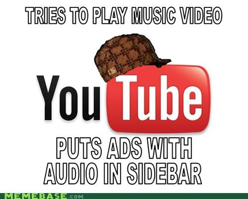 ads,audio,Memes,music video,youtube