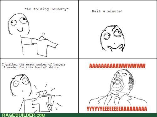aww yeah,hangers,laundry,Rage Comics,shirts