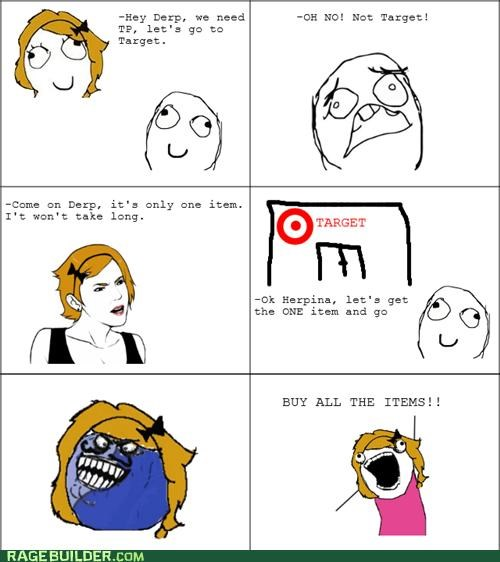 all the things,best of week,i lied,Rage Comics,shopping,Target