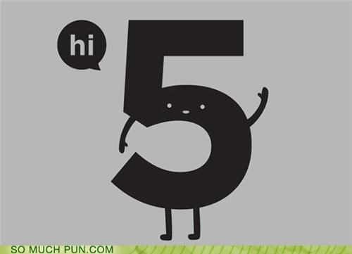 five hi high high five literalism recursion - 5092027392