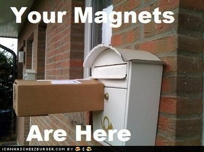 delivery magnets mail mailbox package wtf - 5092440320
