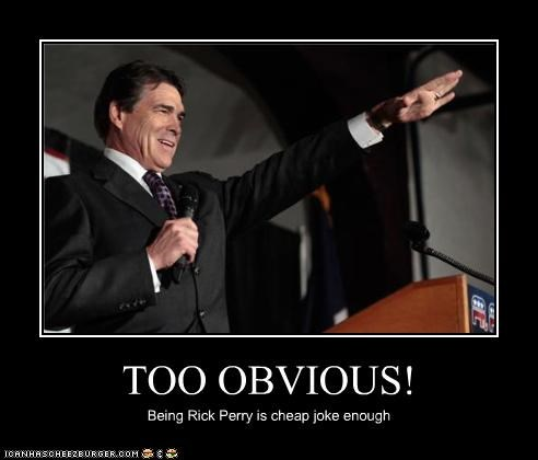 hitler political pictures Rick Perry