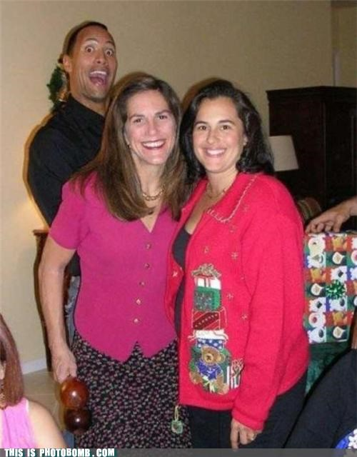 Celebrity Edition,christmas,Dwayne Johnson,Party,the rock