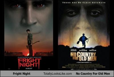 fright night,funny,movie poster,No Country For Old Men,TLL
