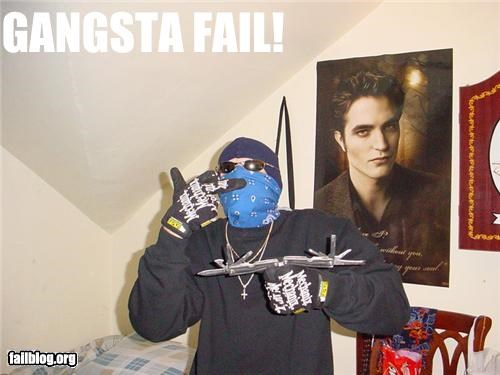 failboat gangster g rated manly photobomb twilight wtf - 5093990400