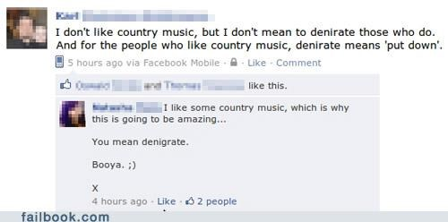 country music,oh snap,spelling