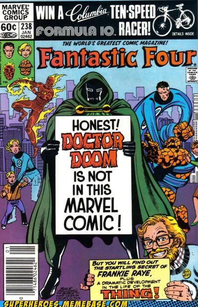 cover dr doom Fantastic Four Straight off the Page wtf - 5094637312