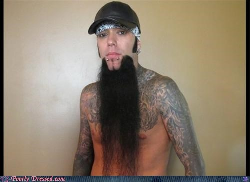 beard hat piercings punk - 5094668288