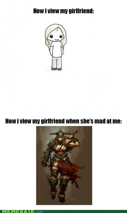 barbarian,girlfriend,How People View Me,mad