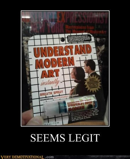 hilarious modern art product seems legit - 5094900736