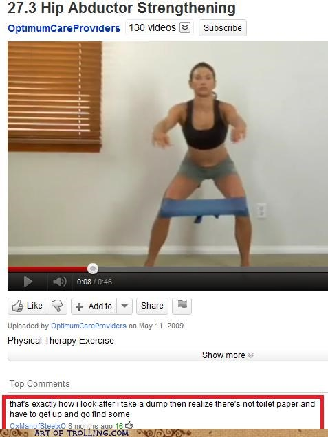 exercise pooptimes therapy youtube - 5094991616