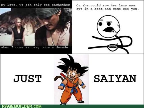 just sayin pirates of the carribean Rage Comics Saiyan - 5095152128