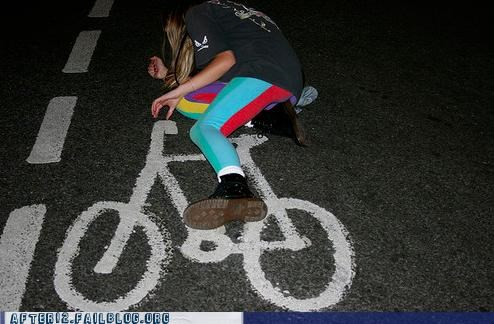 bicycle drunk driving ground passed out wheels - 5095182080