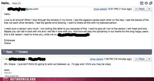 crazy email pigeons We Are Dating - 5095301632