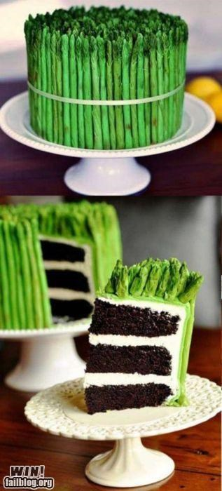 cake food frosting Hall of Fame looks like stealth vegetable - 5095311616