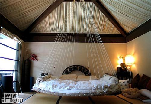 bed bedroom design hammock home - 5095432192