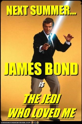 JAMES BOND THE JEDI WHO LOVED ME IS NEXT SUMMER...