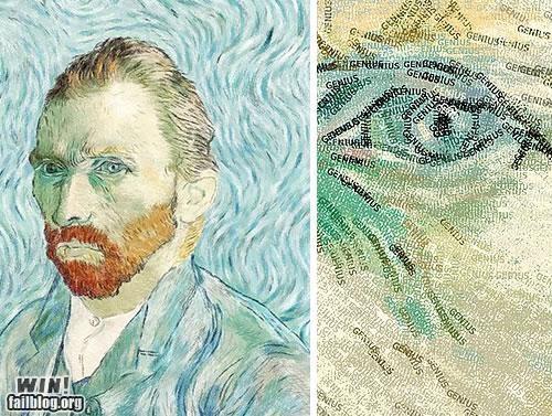 art classic impressionism text Van Gogh - 5095706880